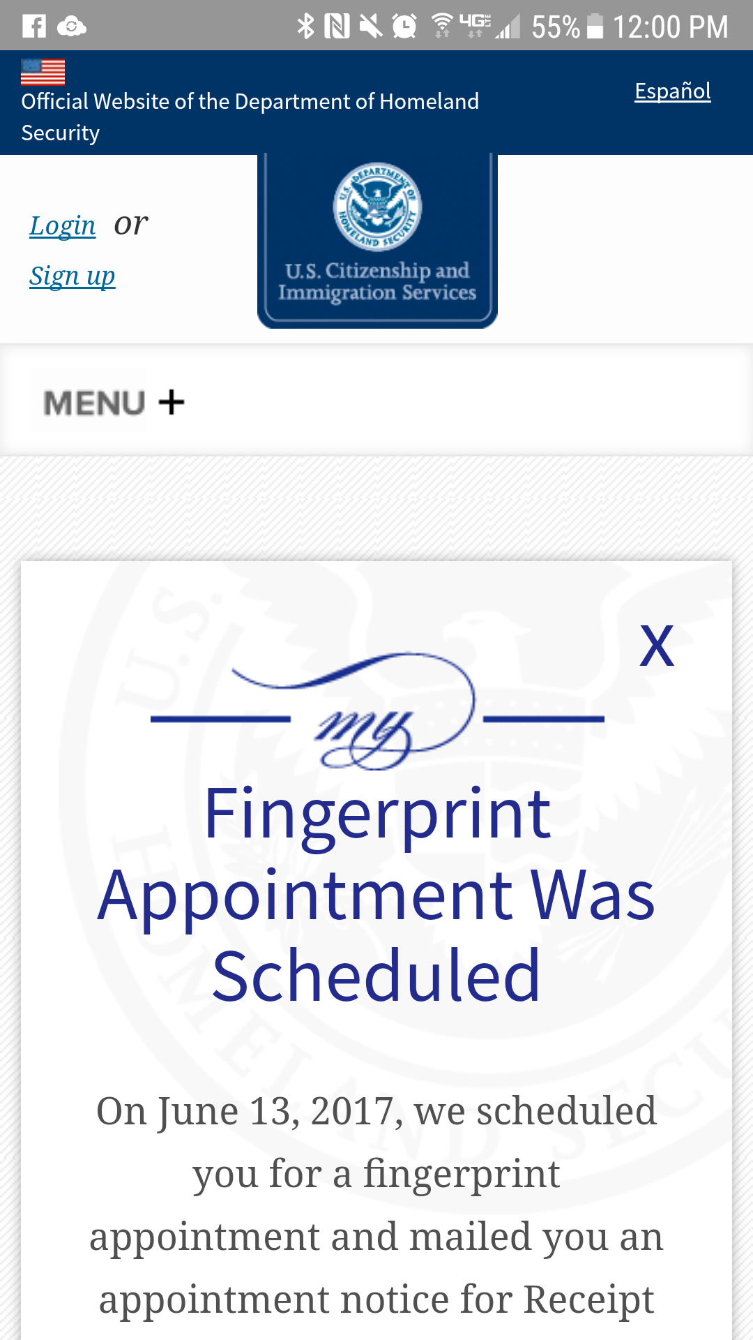 check my citizenship application status online