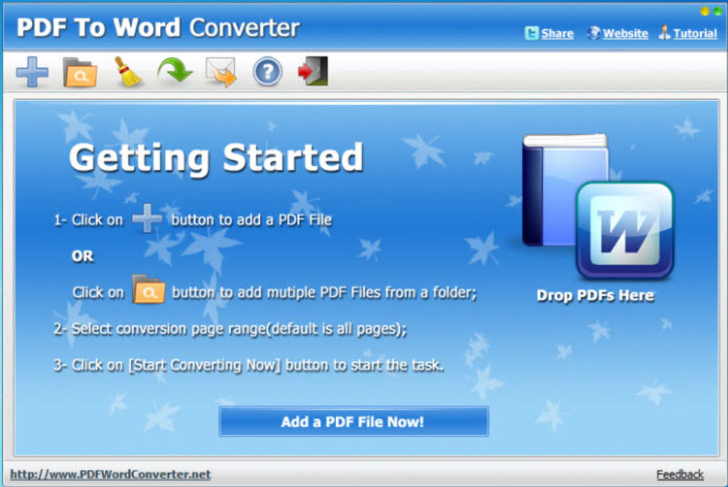 word to pdf converter application