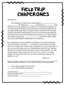 sample of application letter for excursion