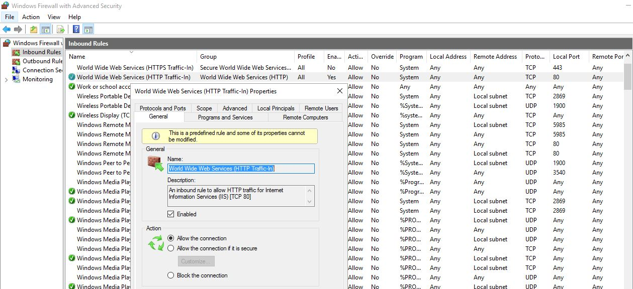 how to host web application in iis server