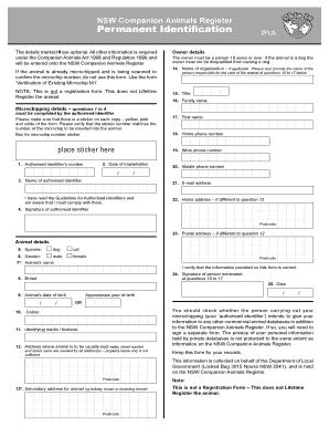 nsw companion card application form