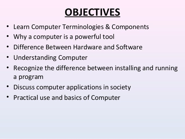 discuss the application of computer in education