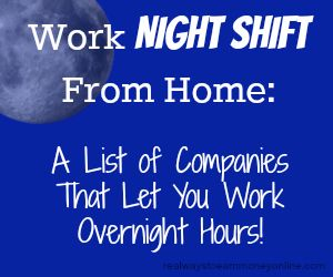 what does shift work mean on a job application