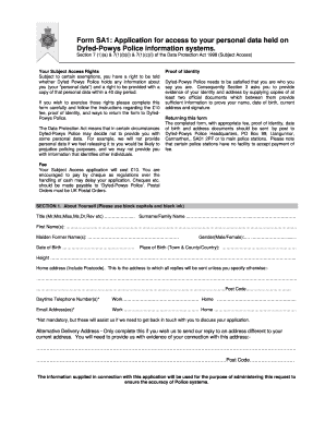 national police certificate application form sa