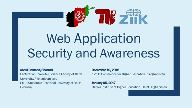what is web application security