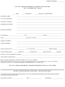 application for alcoholic beverage license
