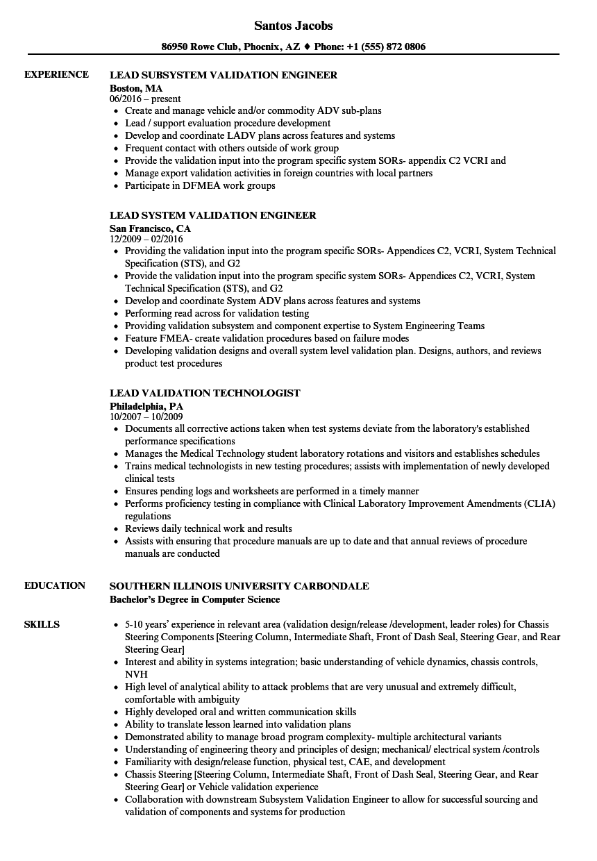 applicant tracking system resume test