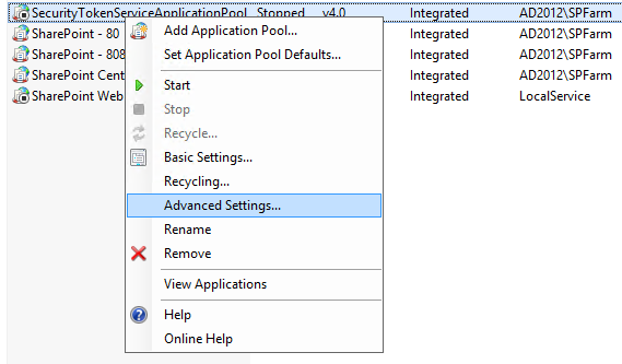 server error in application configuration error
