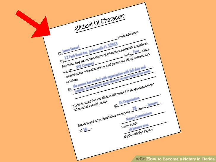 application to become a notary
