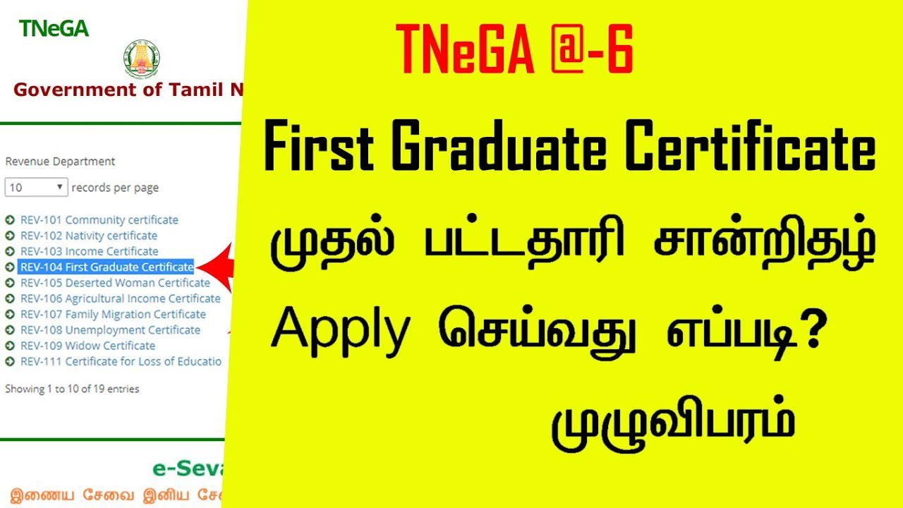 first graduate certificate application form