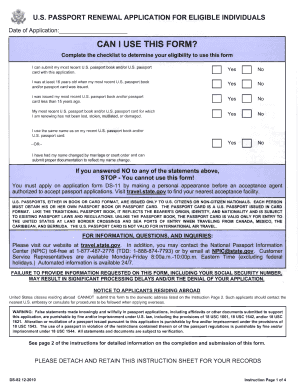 passport renewal application form online