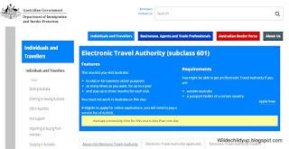 australian visitor visa subclass 600 application form