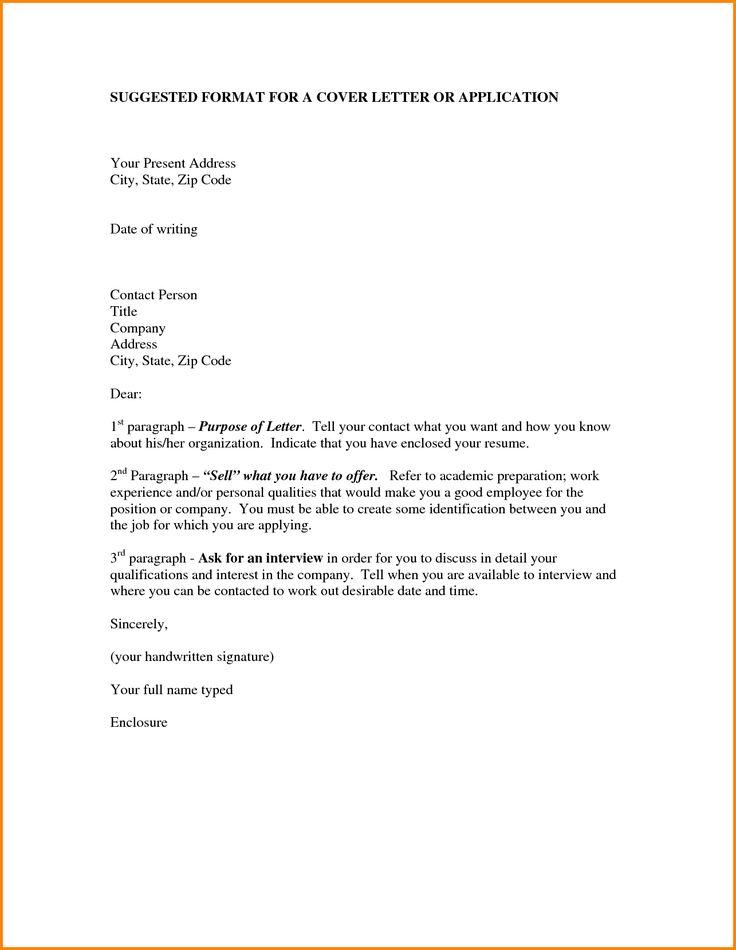 best cover letter for job application
