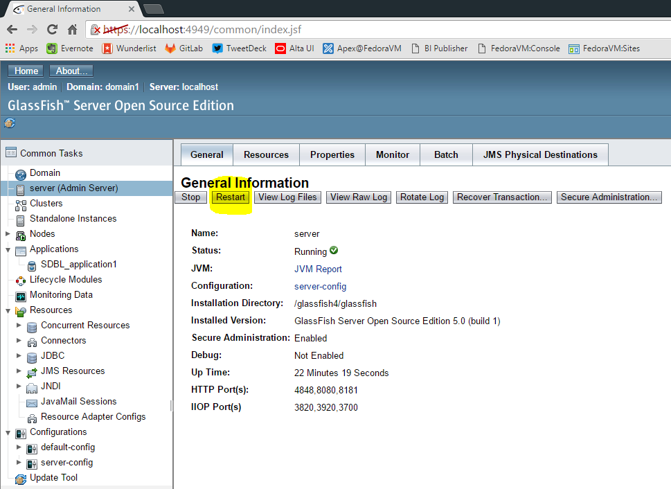 how to deploy java web application on internet