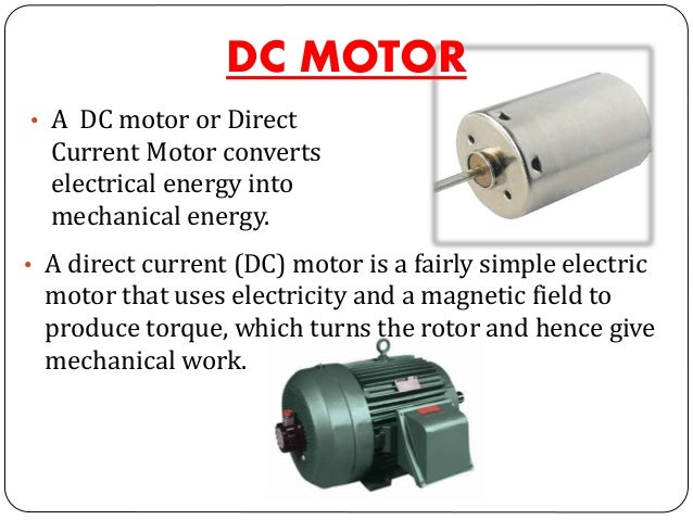 types of ac motors and their applications pdf