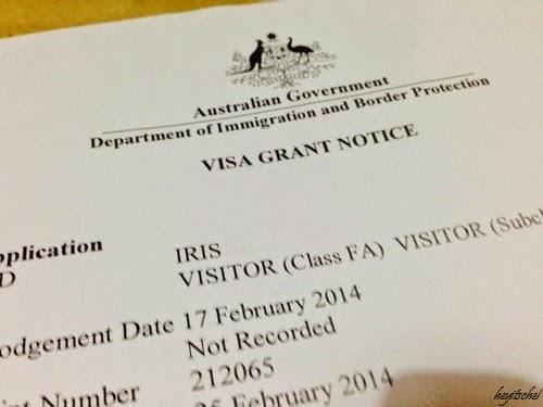 australian government tourist visa application