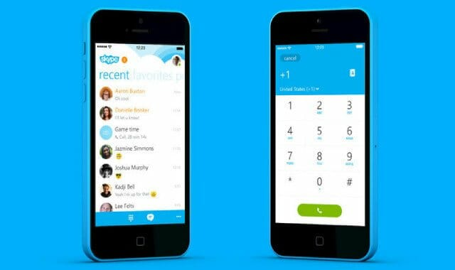 free skype application for android
