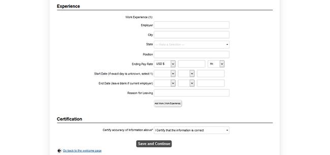 dollar general job application form