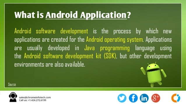 software requirements for android application development