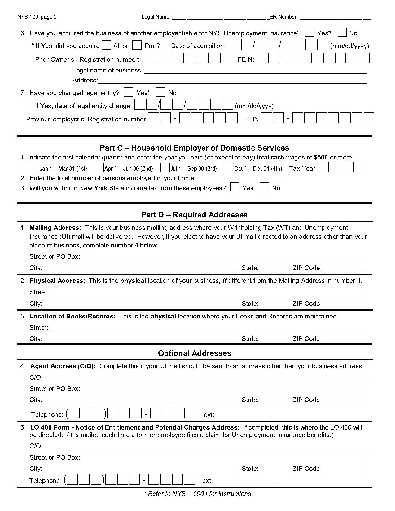 application form for unemployment benefits