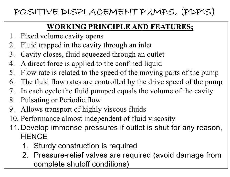 types of pumps and their applications pdf