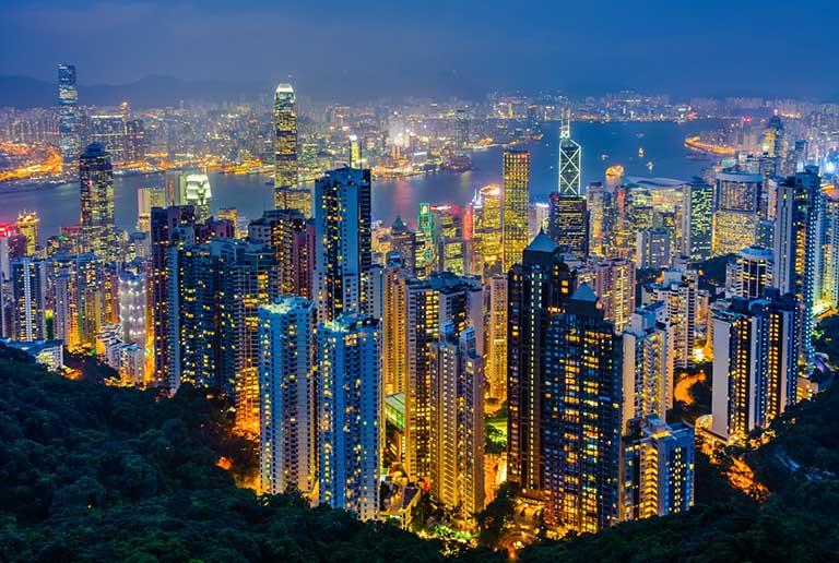 chinese visa application from hong kong