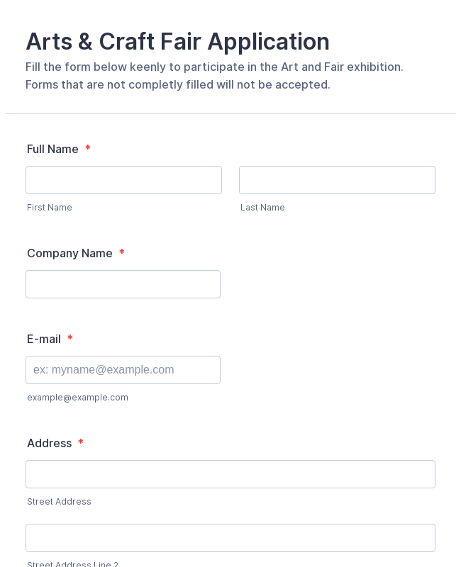 charity volunteer application form template
