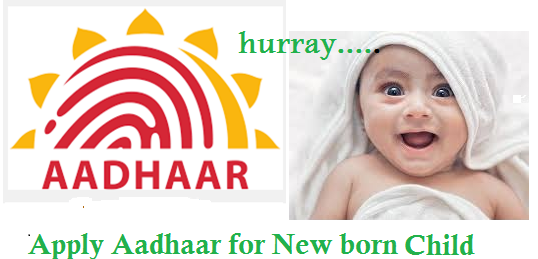 aadhar card application form for child