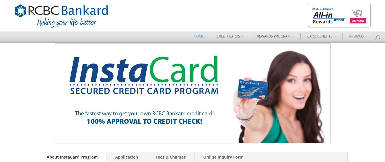 rcbc credit card online application