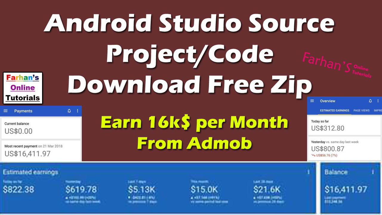 android application source code download zip