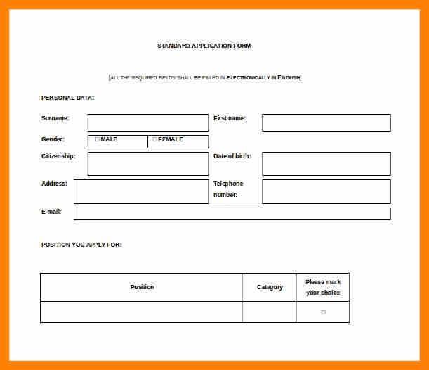 annual leave application form template