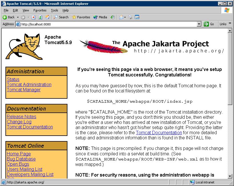 apache tomcat is web server or application server