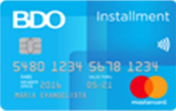application bdo credit card philippines
