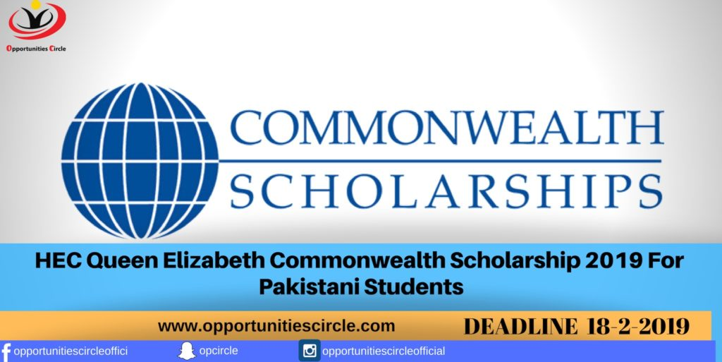 application for a commonwealth scholarship