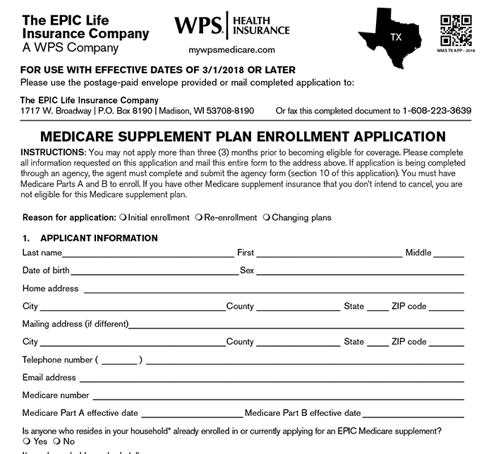 application for a medicare entitlement statement