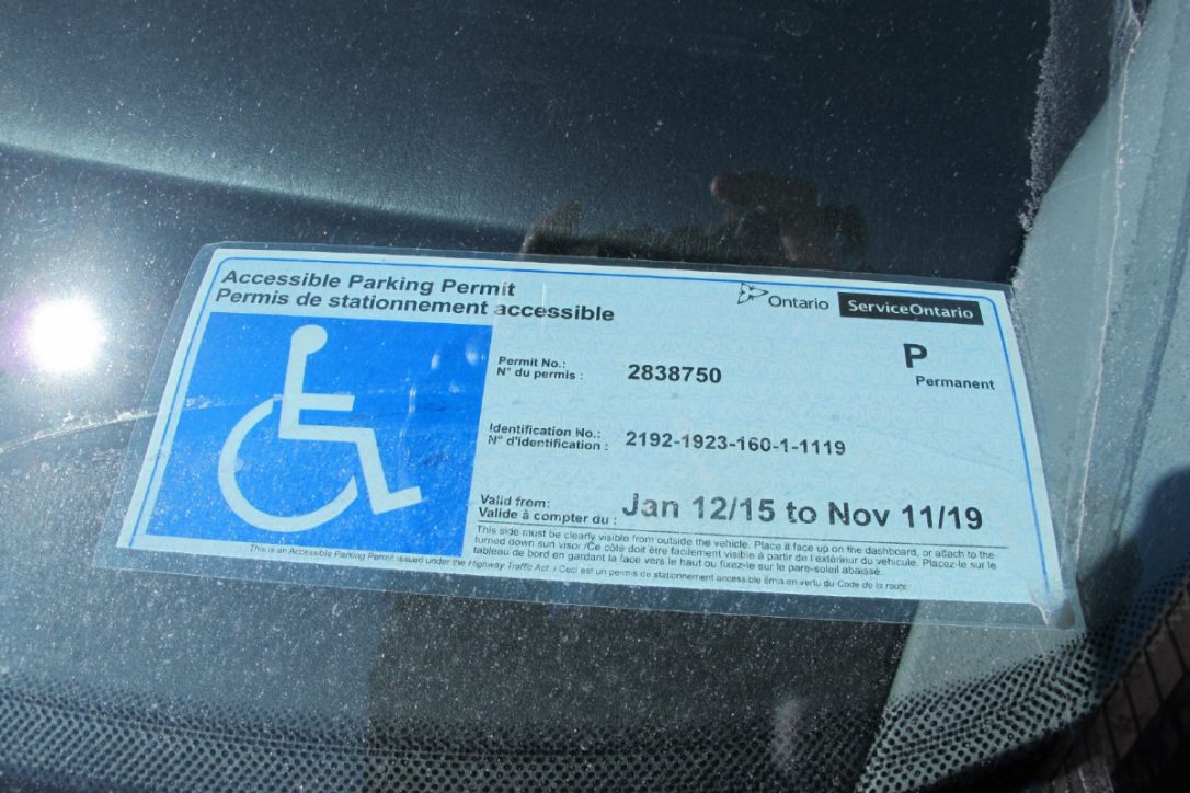application for disabled person parking permit