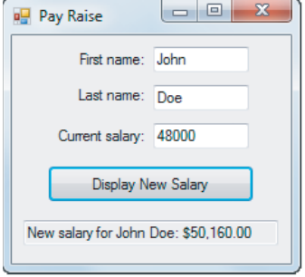 application for raise in salary