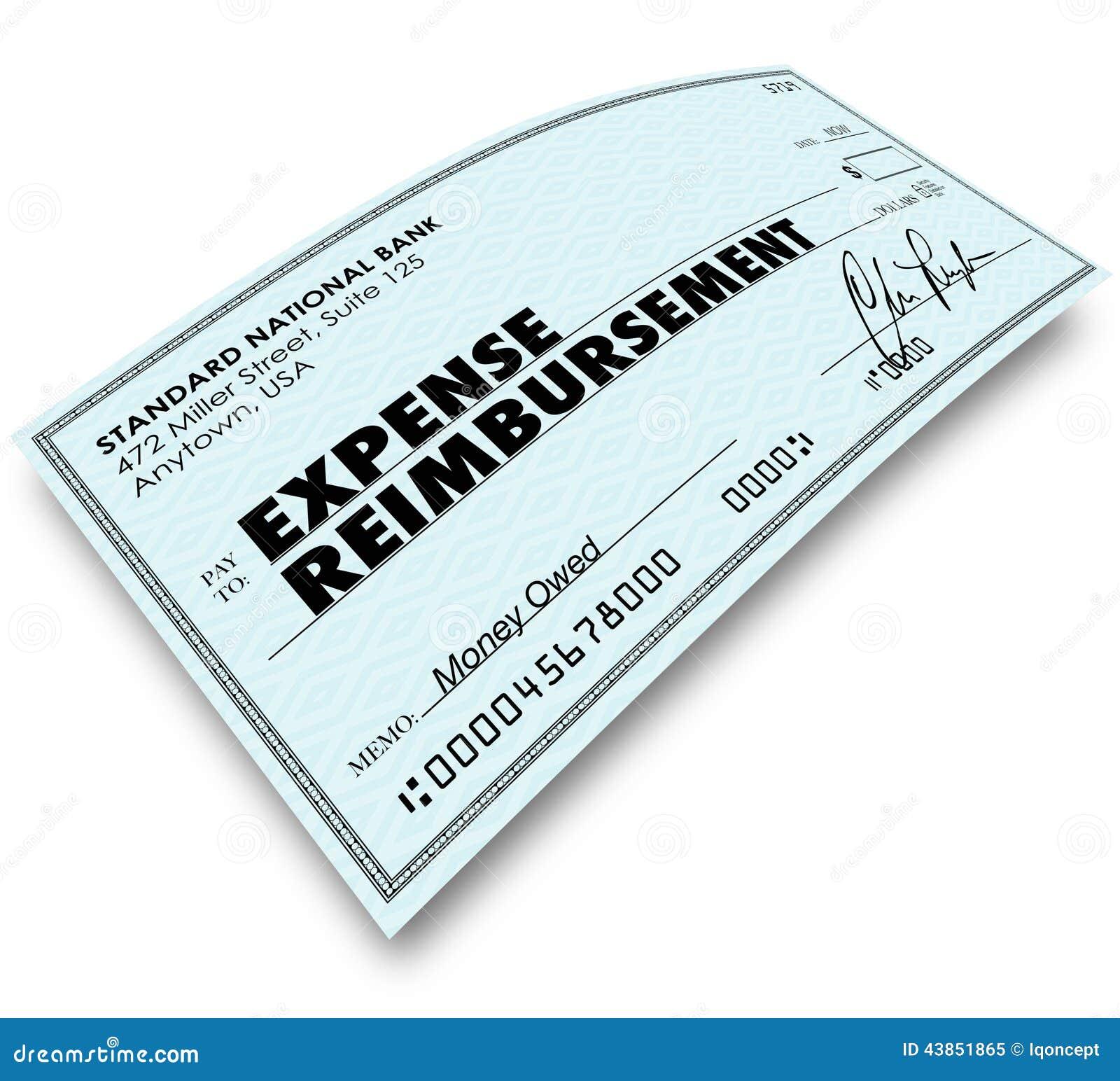 application for reimbursement of travel expenses