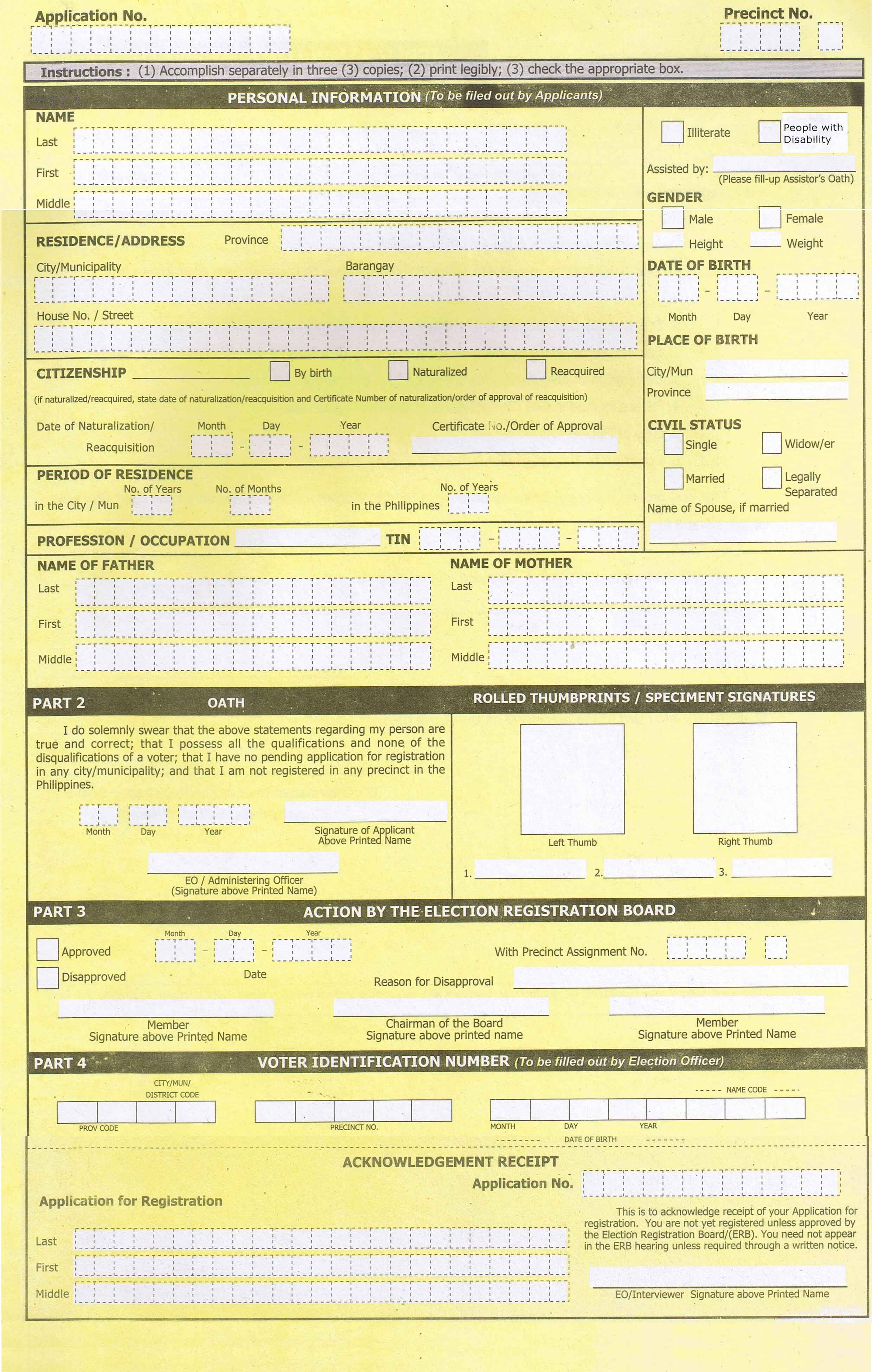 application form for student driver license philippines