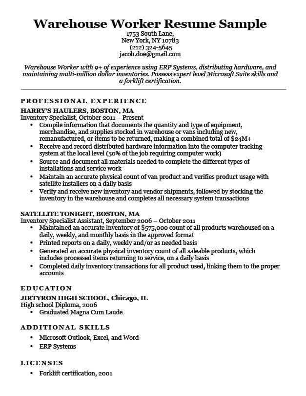 application letter for general manager position
