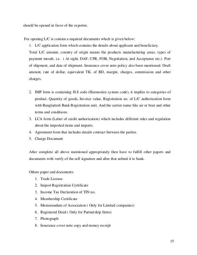 application letter for internship in bank