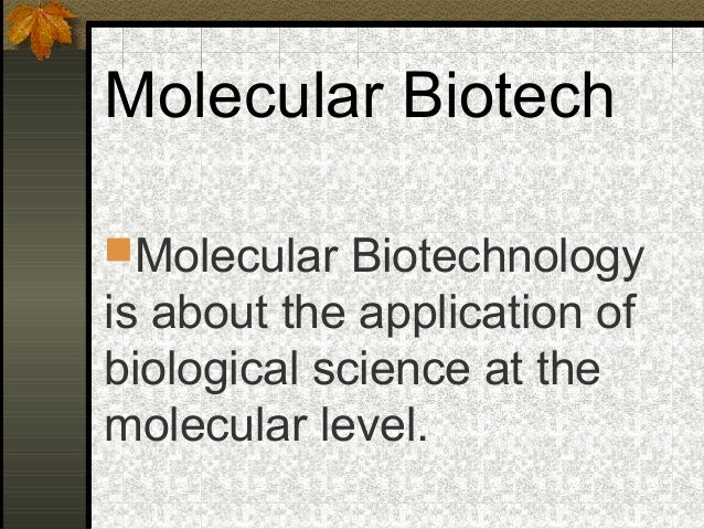 application of biotechnology in environment
