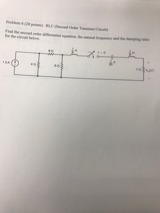 application of differential equation in rlc circuit