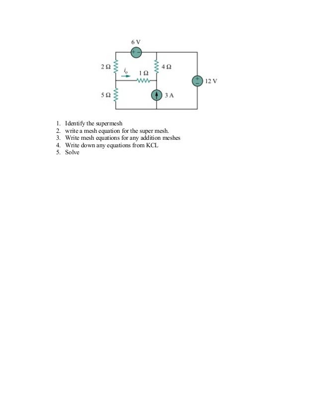 application of kcl and kvl