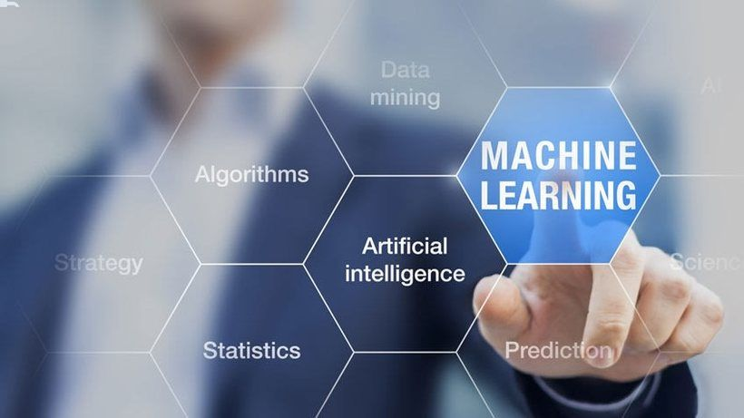 application of machine learning in social networks