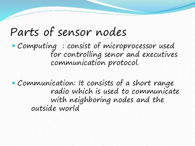 application of wireless sensor networks in environmental monitoring