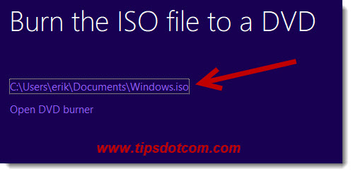 application to open iso file