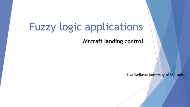 applications of fuzzy logic in artificial intelligence