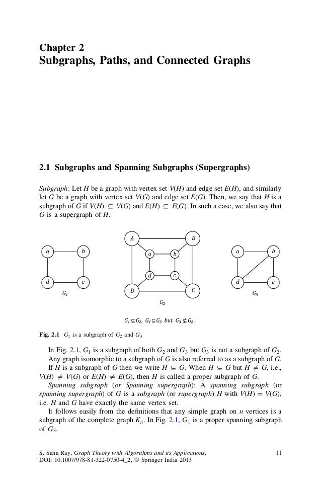 applications of graph theory in physics