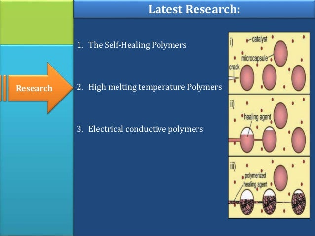applications of self healing polymers